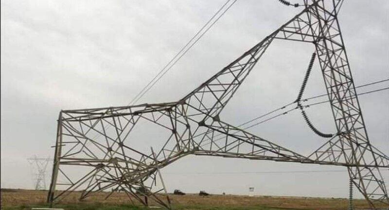 حشد و عشایر برای حفاظت از دکلهای برق بسیج شدند