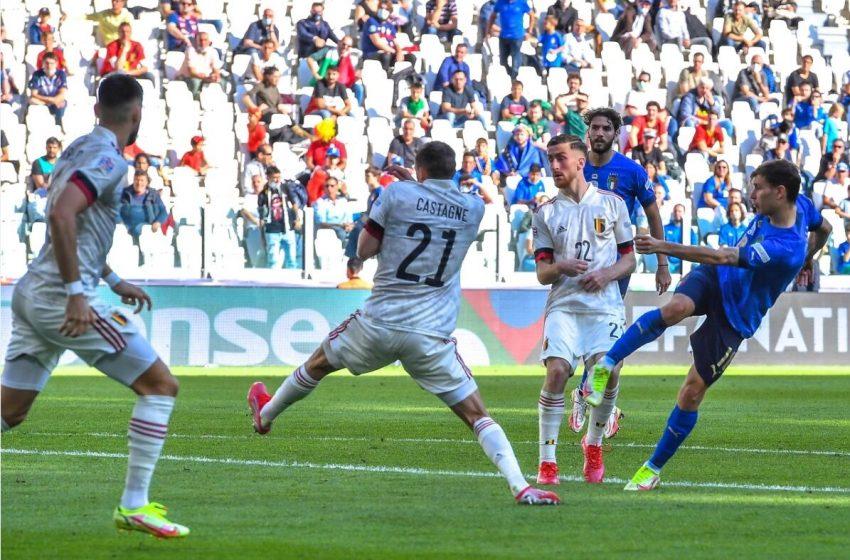 ویدیو| خلاصه بازی ایتالیا ۲-۱ بلژیک
