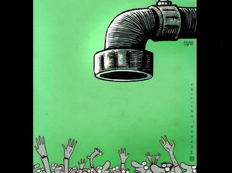 سیلاد: مردم در صف اینترنت قطرهای!